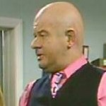 Benny as Kojak in 'Kojak' from the 'Jack & Jill: Variations on a Theme'
