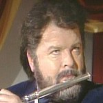 Benny is flautist James Gaulstone in 'For Ever Love'