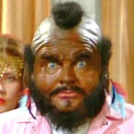 Benny as Mr. T in 'The B-Team'