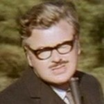 Benny as Alan Whicker in 'Benny Quickie: Black Moor'