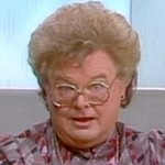 Benny as Dr. Ruth Westheimer in 'Ask Dr. Ruth!'