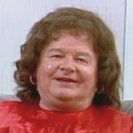 Benny as Roseanne Barr in 'Ask Dr. Ruth!'