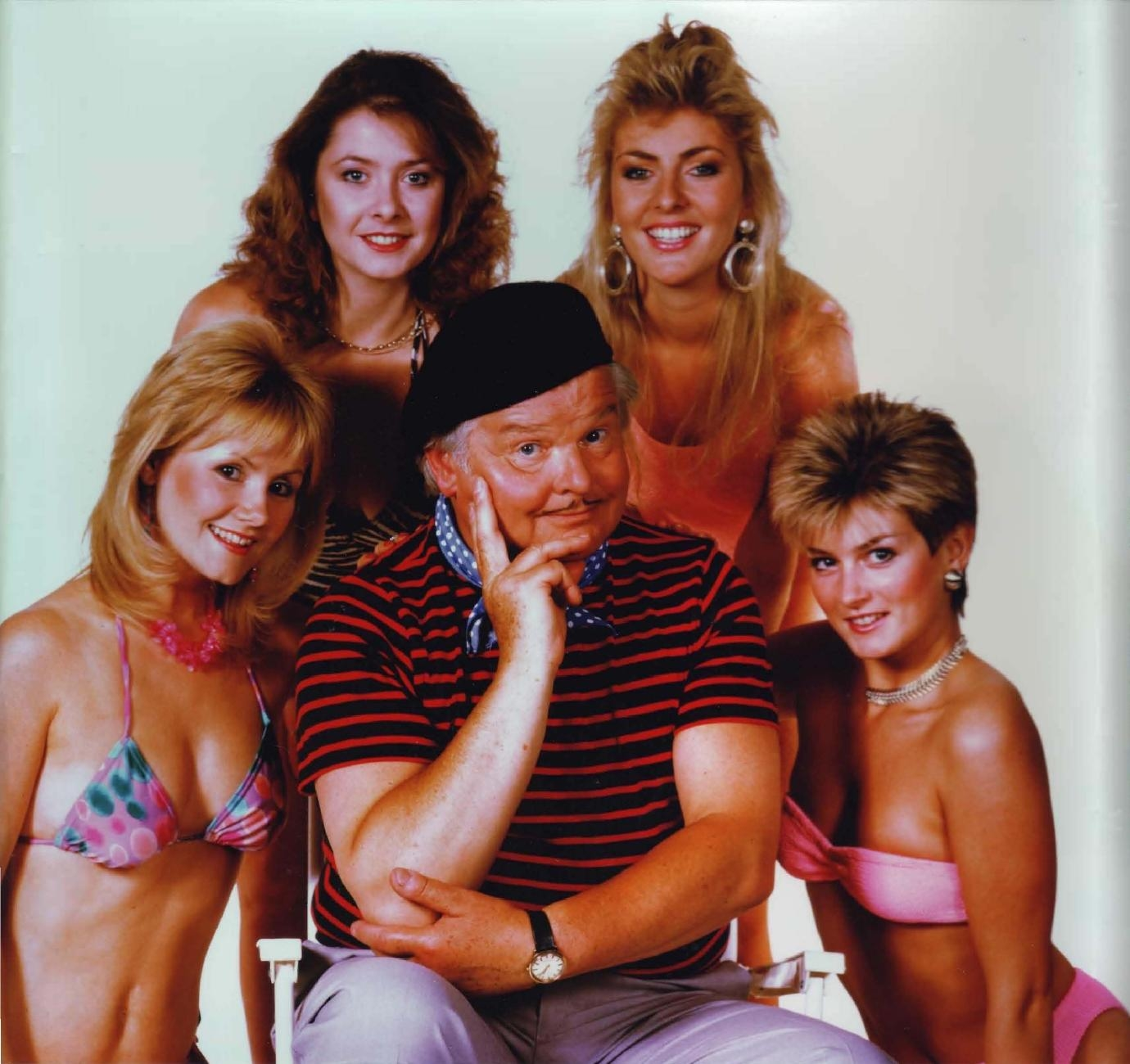 benny hill girls topless