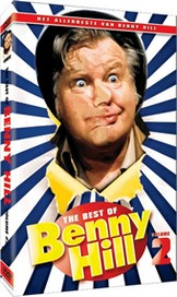 Click to see a larger version of the Dutch Filmworks DVD, The Best of Benny Hill Volume 2