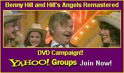 Benny Hill DVD Campaign