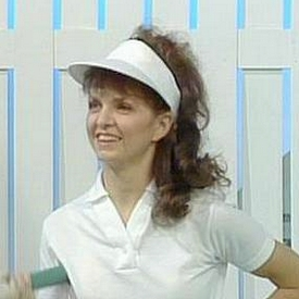 Jenny Baker as seen in the sports segments from the February 8th, 1989 show