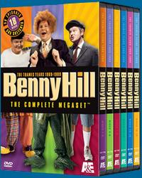Benny Hill - The Thames Years 1969-1989: The Complete Megaset does not contain any additional material. A simple repackaging of the six DVD sets currently available.