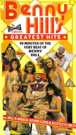 Benny Hill's Greatest Hits VHS (Pal)